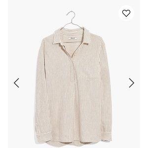 Madewell Flannel Classic Ex-Boyfriend Shirt